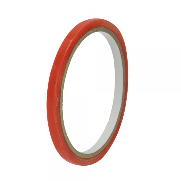 Tacky Spezial Doppelklebeband, 6 mm, 5 m, Farbe: transparent
